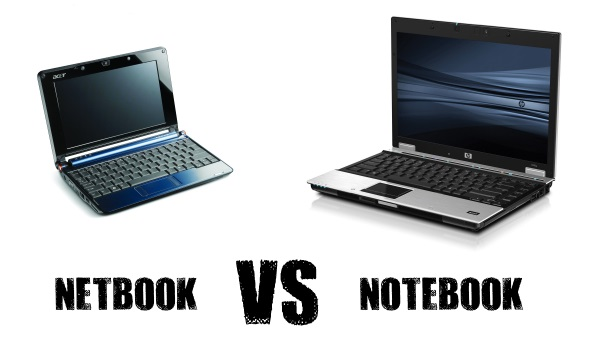 чем отличается netbook от notebook