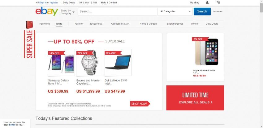 оплата c PayPal покупок в ebay