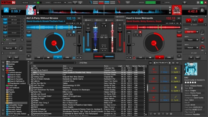 возможности Virtual DJ
